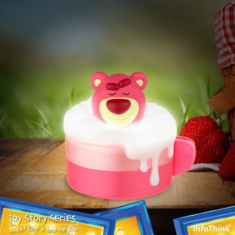 熊抱哥泡泡歐蕾小夜燈收納盒,售價499元,6月17日起於7-ELEVEN全台1,...
