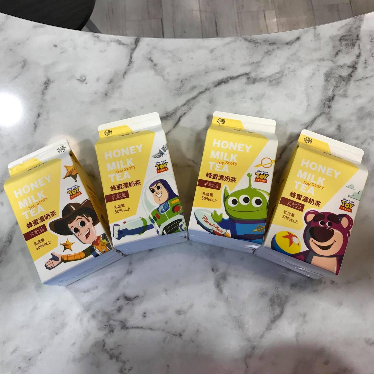 7-ELEVEN於6月17日起推出4款玩具總動員「蜜蜂工坊-蜂蜜濃奶茶」。記者陳...