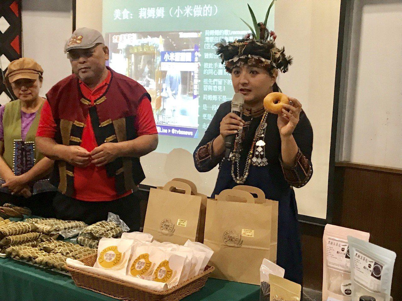 「三地門的siyu-bai(商店)市集」匯集咖啡、老樹茶、芒果青、鳳梨、吉拿富、...