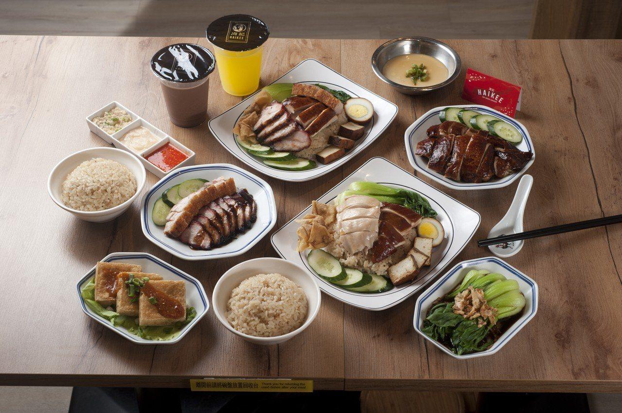 「海記醬油雞」進駐台北SOGO忠孝館B1開設台灣百貨首店。圖/SOGO提供