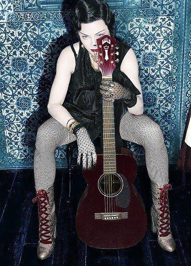 瑪丹娜相隔四年發行新專輯「X夫人」。圖/環球提供