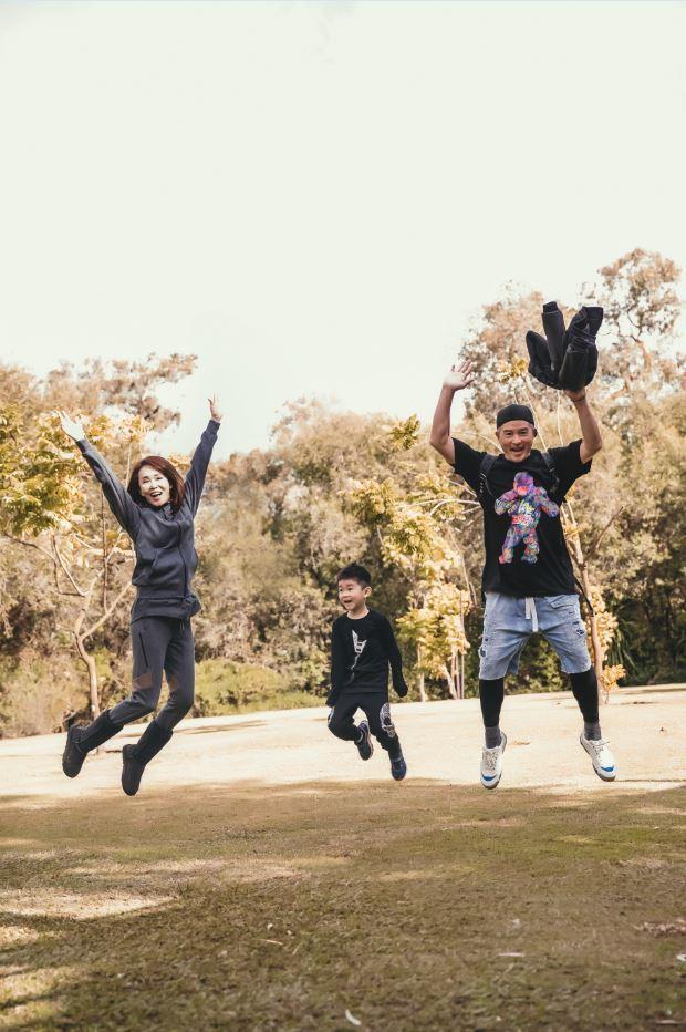 李銘順、范文芳夫妻帶著5歲兒子Zed 到澳洲度假。圖/凱渥提供