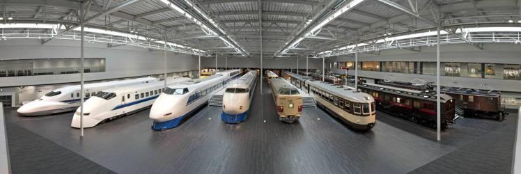 從蒸汽火車、電氣列車、新幹線到磁浮列車,都可以在磁浮鐵道館一次蒐羅。 圖/中部國...