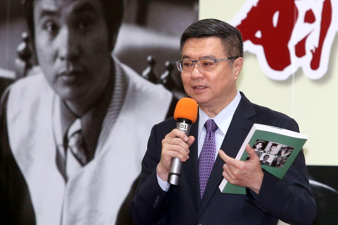 民进党主席卓荣泰。 联合报系记者林澔一/摄影