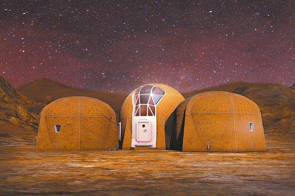 Zopherus團隊規畫的棲息地有三個結構,這些結構採六邊形設計。 圖/網路照片