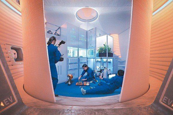 紐約建築師事務所AI SpaceFactory提出的構想是一個大型多層圓柱形建築...