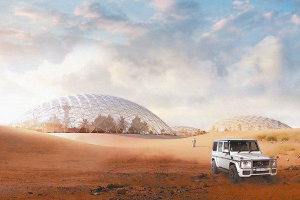 建築界鬼才英格斯並非參加競賽,而是選擇與阿拉伯聯合大公國合作,他們計劃在杜拜近郊...