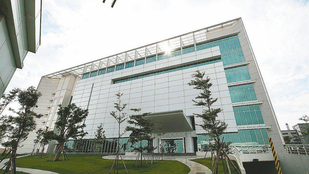 位於台中市精密科學園區的大立光公司。 報系資料照