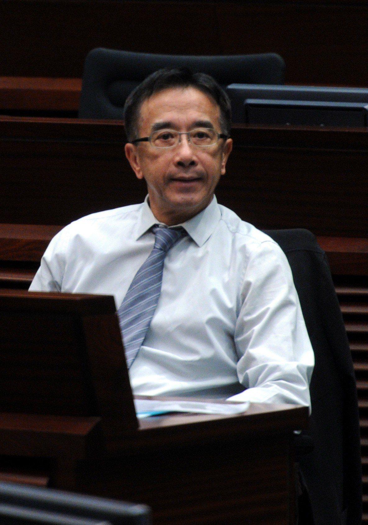 建制派自由黨榮譽主席田北俊。(中通社資料照片)