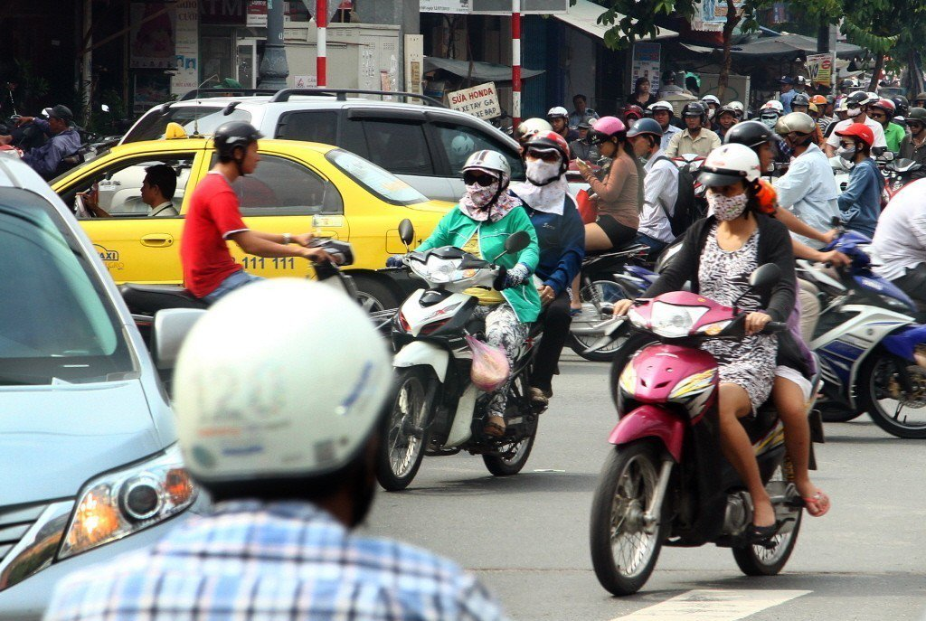 越南街景。 記者高彬原/攝影