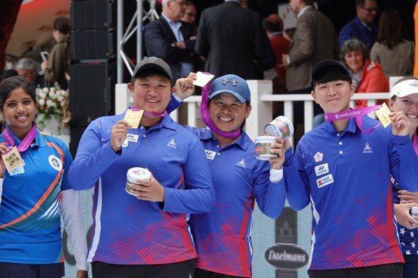 射箭/複合弓世錦賽摘金 教頭:台灣世界第一