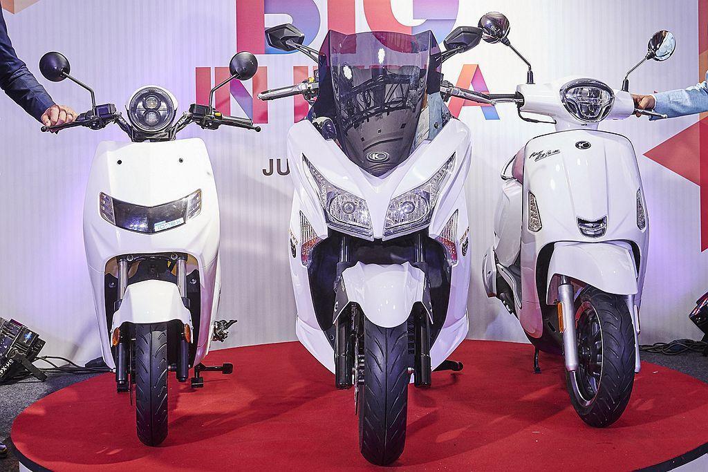 22KYMCO新品牌將專注印度市場獨特需求,而掛上22KYMCO品牌的iFlow...