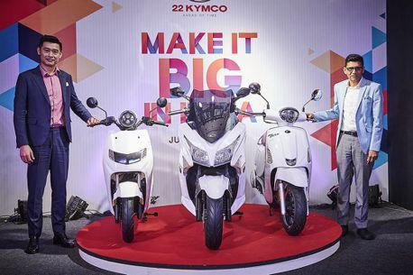 全新品牌22KYMCO成立!光陽誓言讓電動車「於印度發揚光大」