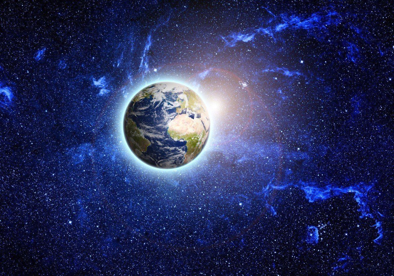地球是銀河系裡唯一孕育著生命的美麗星球。 示意圖/ingimage