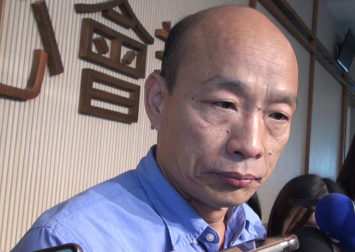 高雄市長韓國瑜。圖/聯合報資料照