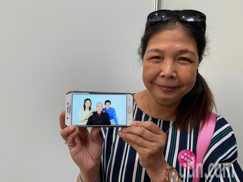 周劭祈的媽媽與兒子關係相當緊密,但兒子不幸離世,她認為遺留的肉體若能幫助更多人,相信也是讓兒子生前熱愛幫助人延續到生後。記者陳雨鑫/攝影