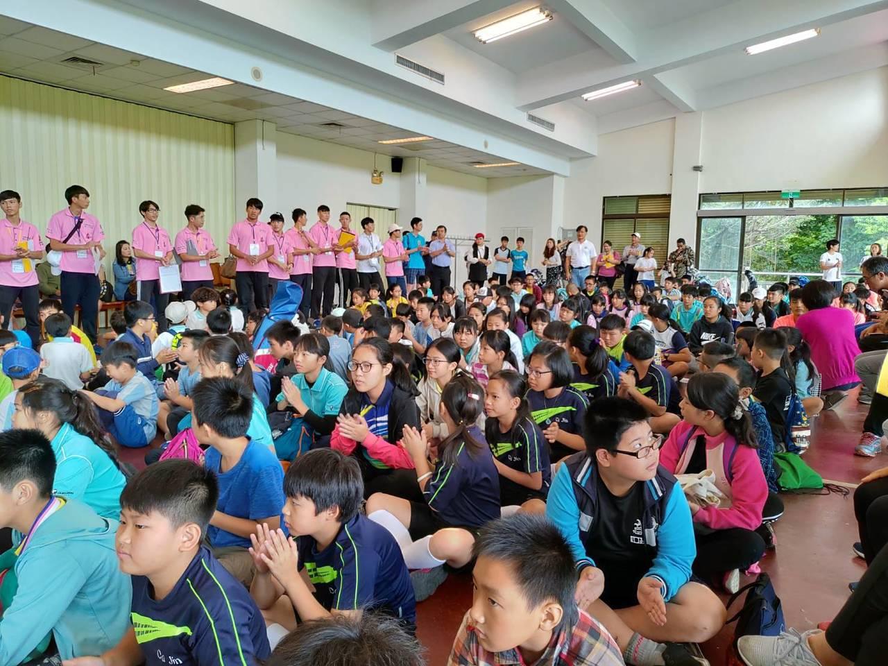 有200多人參加花蓮縣長盃暨全運會代表選拔賽圖/高協提供