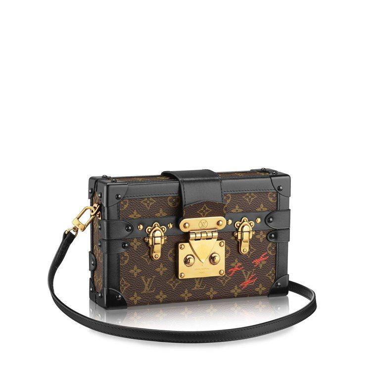 Petite Malle肩背手拿包,售價17萬4,000元。圖/LV提供
