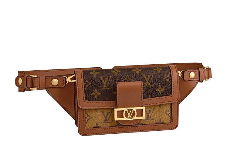 Dauphine手袋系列腰包款式,售價88,000元。圖/LV提供
