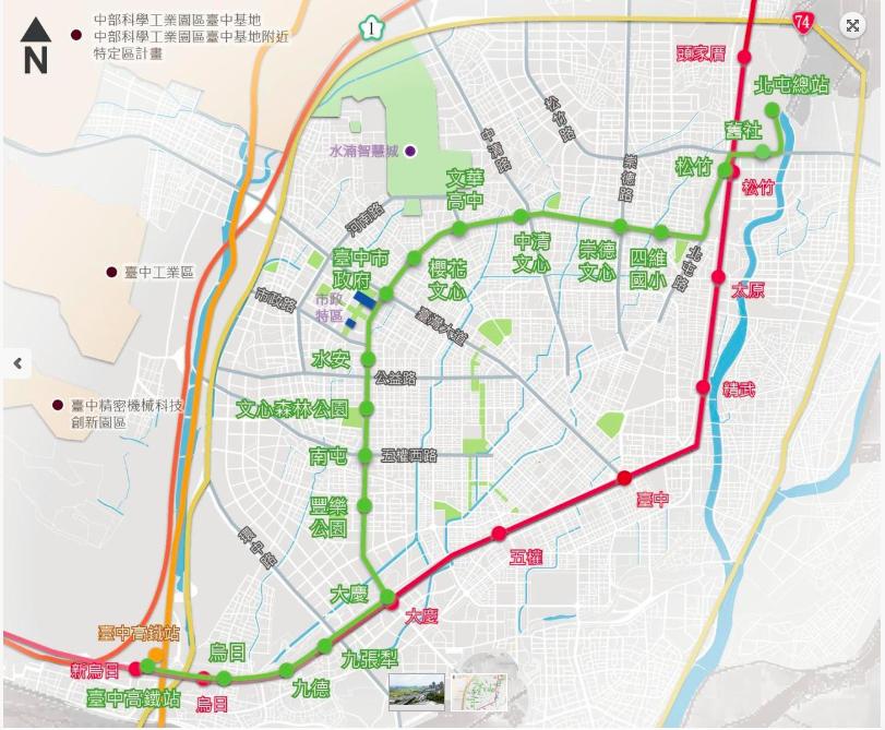 台中捷運綠線明年底通車,全線18站,前市府未訂命名規則就命名,引發地方人士、民代...
