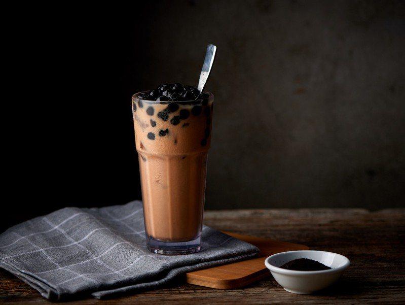 珍珠招牌奶茶。圖/金鳳錦燒鵝提供