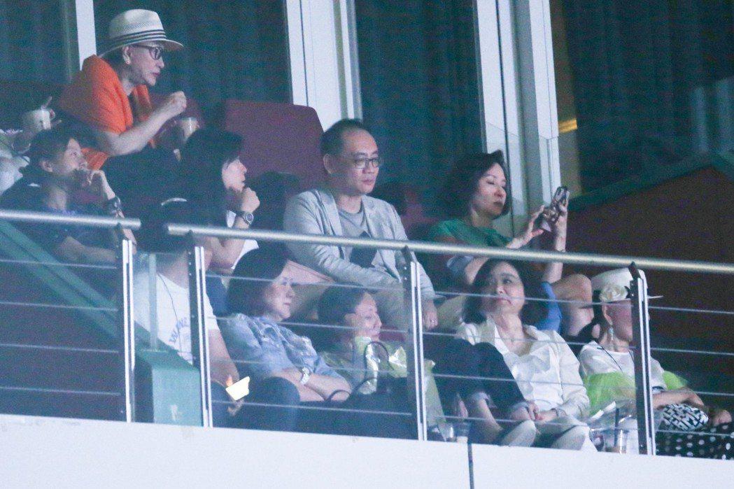林青霞、徐楓、施南生都到場觀賞。記者葉信菉/攝影