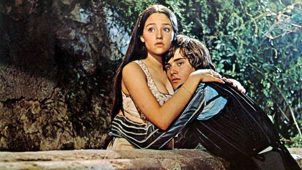 「殉情記」是影史公認最出色的「羅蜜歐與茱麗葉」電影版,男女主角因此大紅。圖/摘自