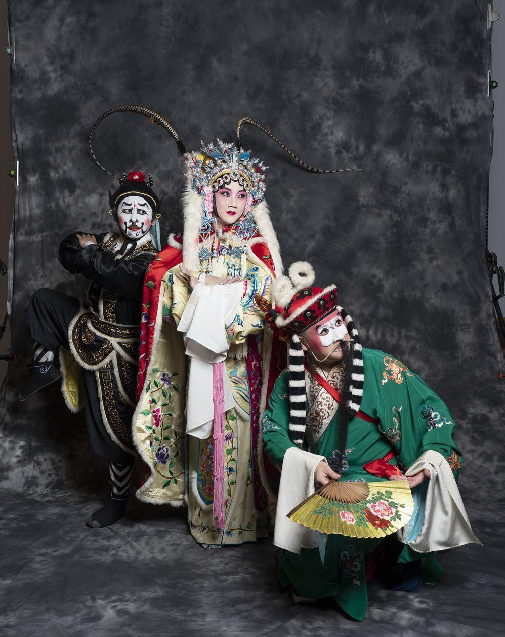 「昭君出塞」曾被禁,昭君得自願和番才能重新登上舞台。 圖/國光劇團提供