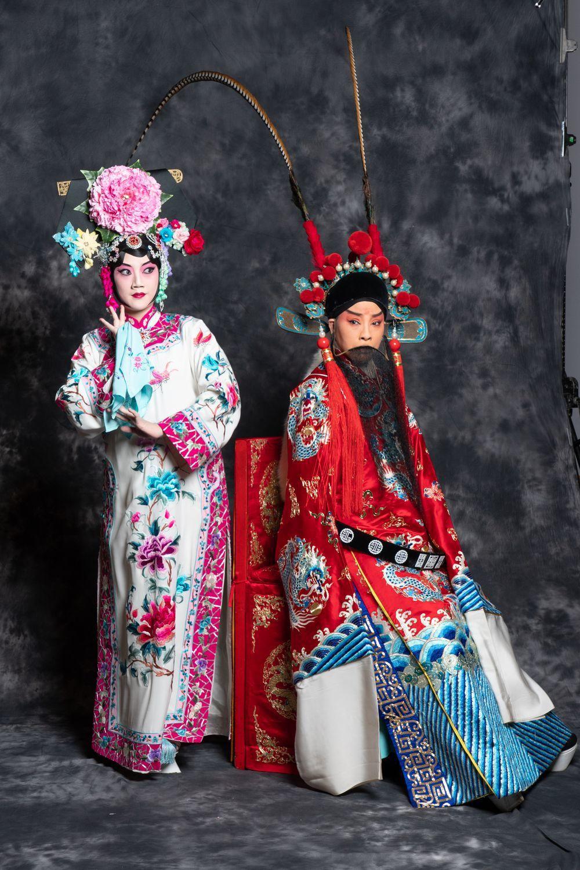 「四郎探母」中的鐵鏡公主(左),被封為地表最強小三。 圖/國光劇團提供