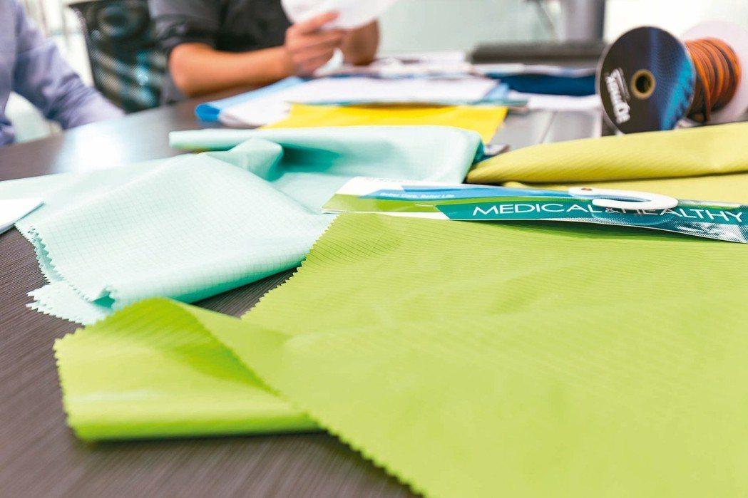 豪紳特殊纖維用布產品。 圖/豪紳提供
