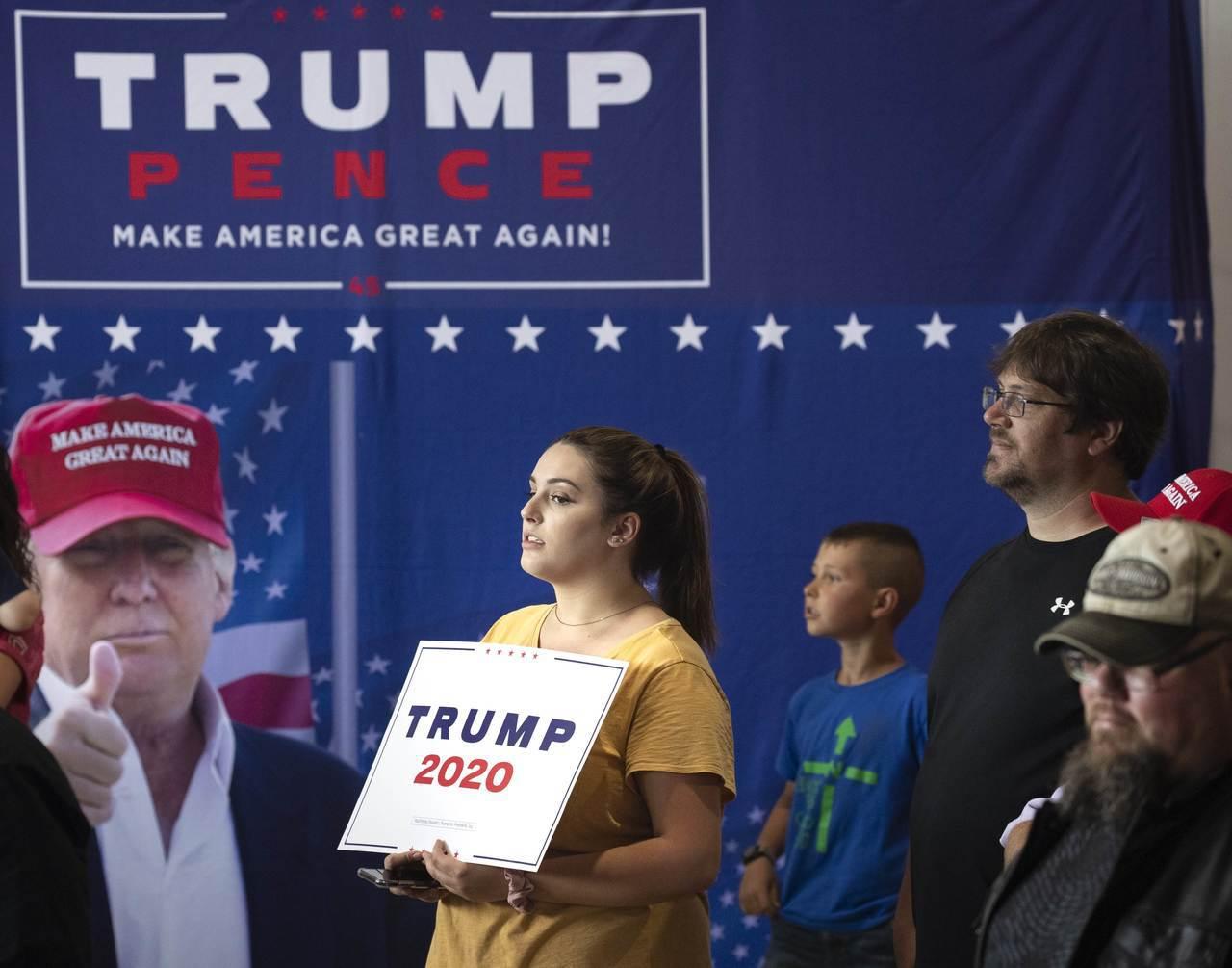 川普競選連任改打傳統選戰,鞏固基本盤是關鍵,確保選民投票最重要。 法新社