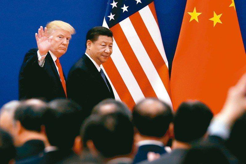 G20鋒會川普(左)與習近平(右)雖有可能會面,但貿易協定仍難以敲定。 路透