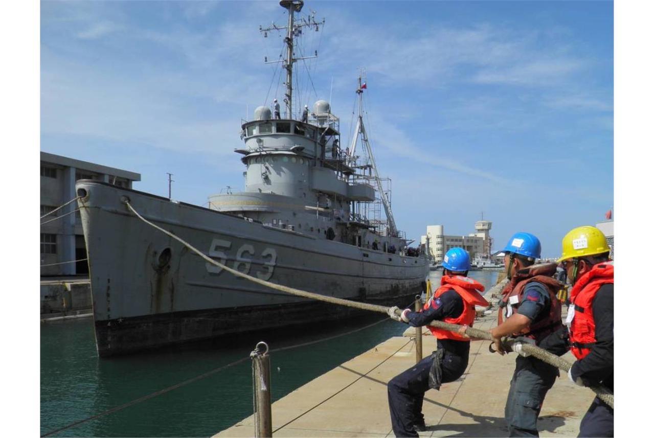 海軍大台艦。 圖/海軍提供