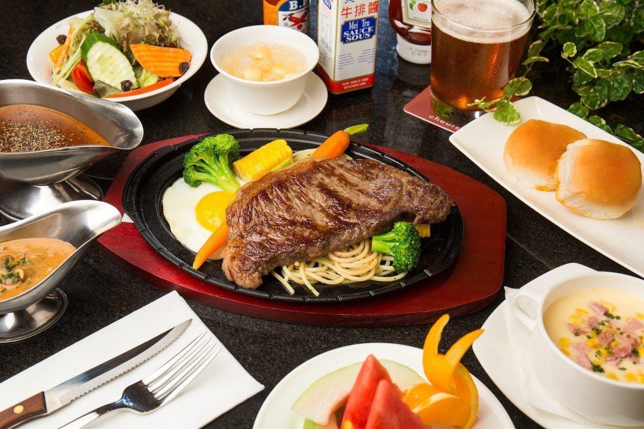 「台式鐵板牛排」吃的不僅是美味,更是童年的回憶。 圖/台北君悅酒店提供