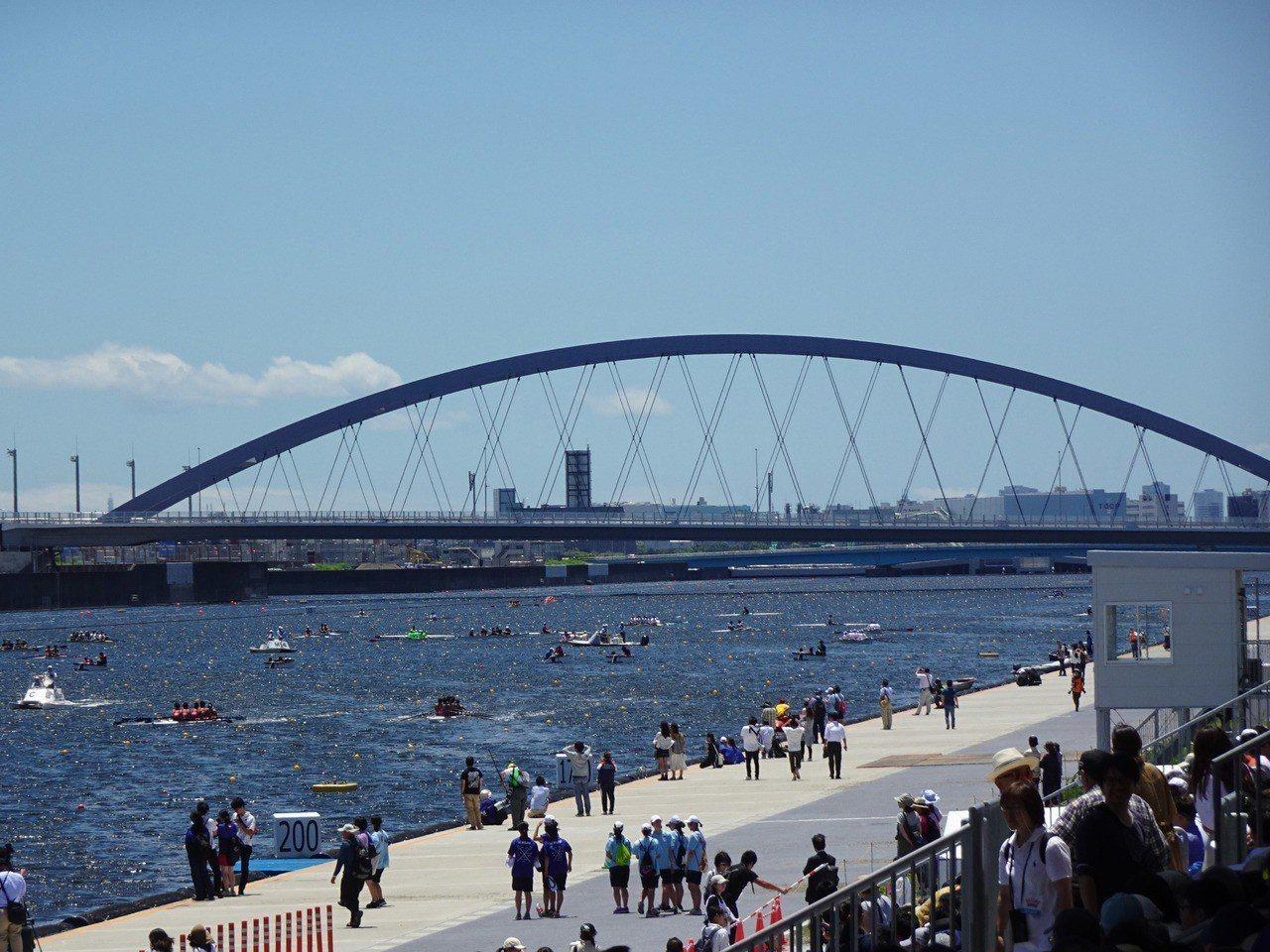 位於東京灣岸的海之森水上競技場是2020年東京奧運划船與輕艇靜水競速的比賽場地,...