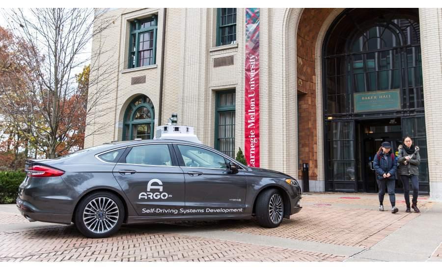 福特Argo AI自駕車。 摘自Argo AI