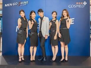 全新5人團體「MEN GO SHINE」,主要是由1位專業藥師,加上4位時尚彩妝...