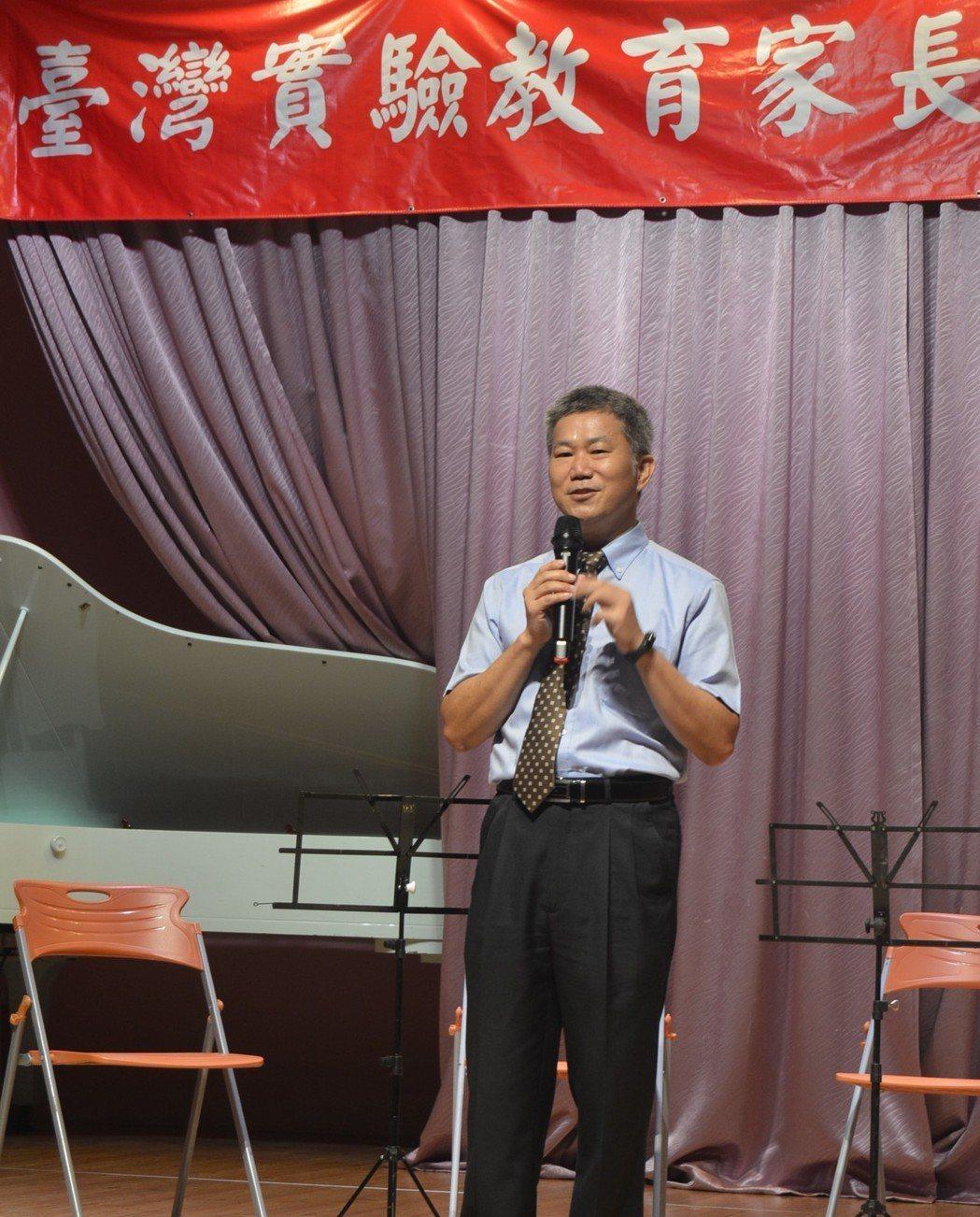 籌備會主任委員王俊源致詞。   楊逢峮/攝影