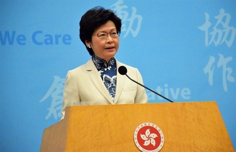 香港特首林鄭月娥15日宣布暫緩修訂《逃犯條例》,專家對港府是否讓步看法不一。(P...