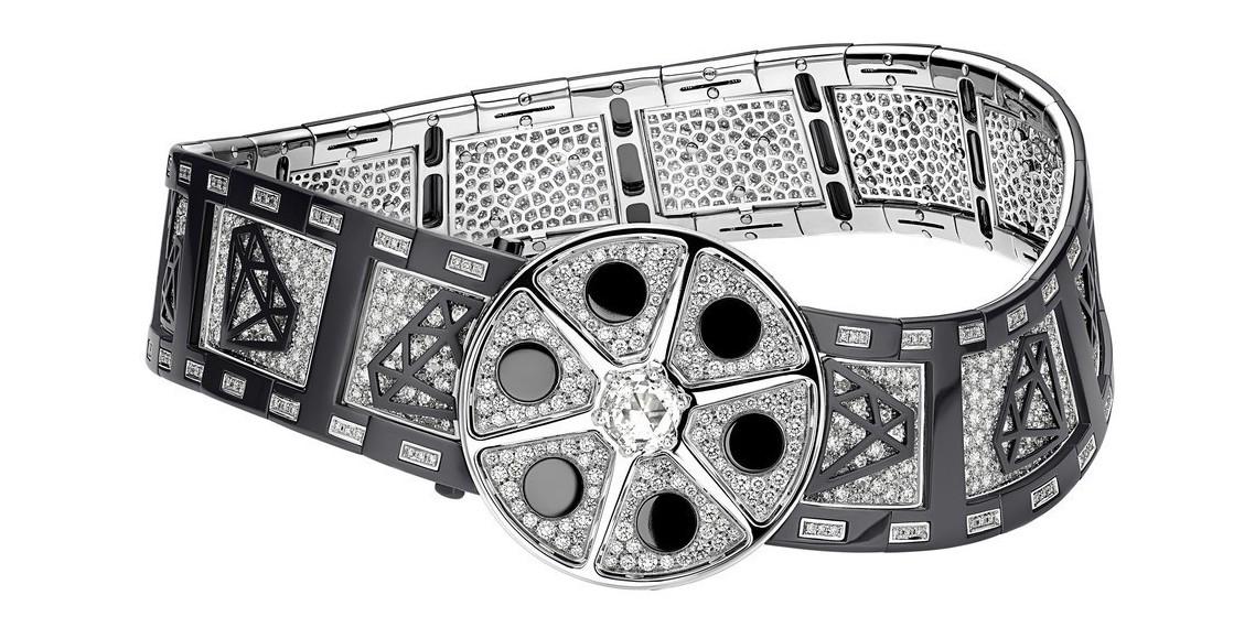 寶格麗Cinemagia系列Action!頂級鑽石項鍊,首度採用鋯石為鑲飾,價格...