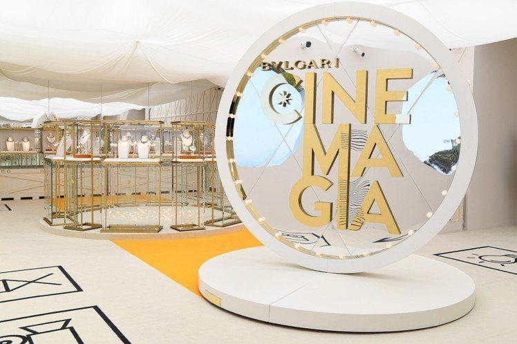 寶格麗在卡布里島舉辦Cinemagia系列頂級珠寶發表會,現場以如同電影般的場景...