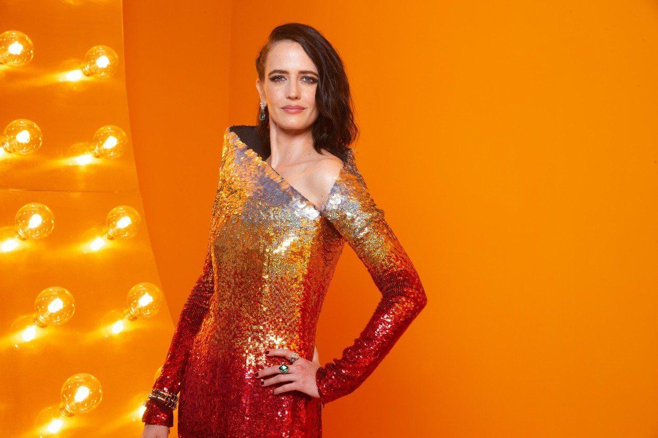 法國女星Eva Green霸氣出席寶格麗Cinemagia系列頂級珠寶發表會。圖...