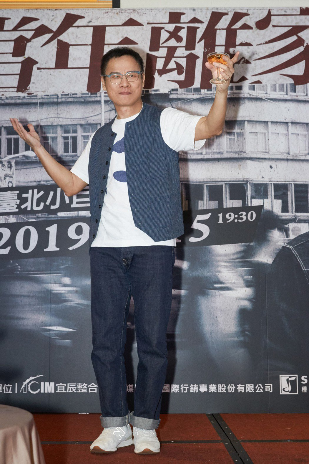羅大佑順利完成「當年離家的年輕人2.0—青春無悔追夢版」台北場。圖/種子提供