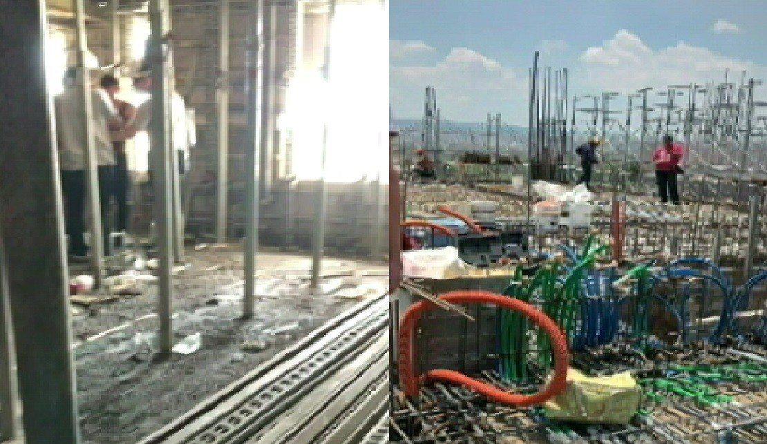 移民署台中專勤隊昨天前往清水區工地查緝非法工作,查獲9名違法在台工作的越南人,將...