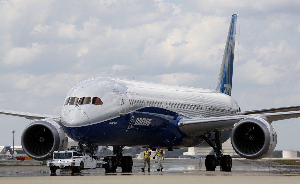 波音787夢幻客機的引擎滅火系統開關被偵測到有可能故障。美聯社