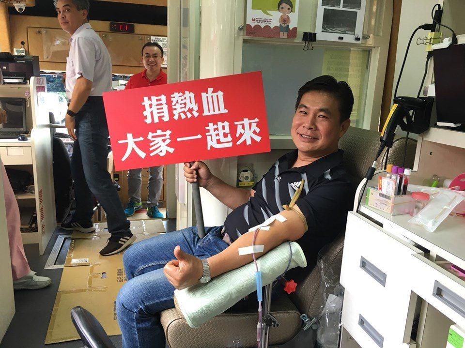嘉市警好「熱血」 163袋連捐血站人員都驚訝
