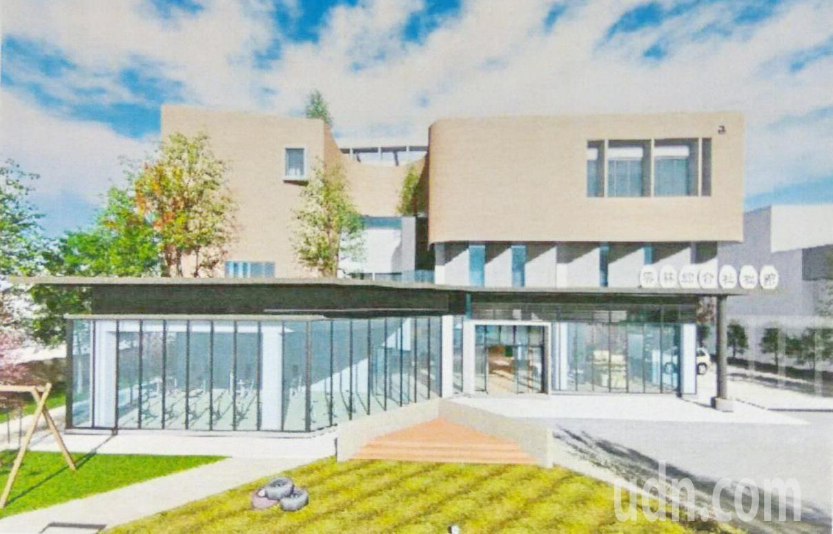 雲林耗資1.4億元 打造首座綜合社會福利館