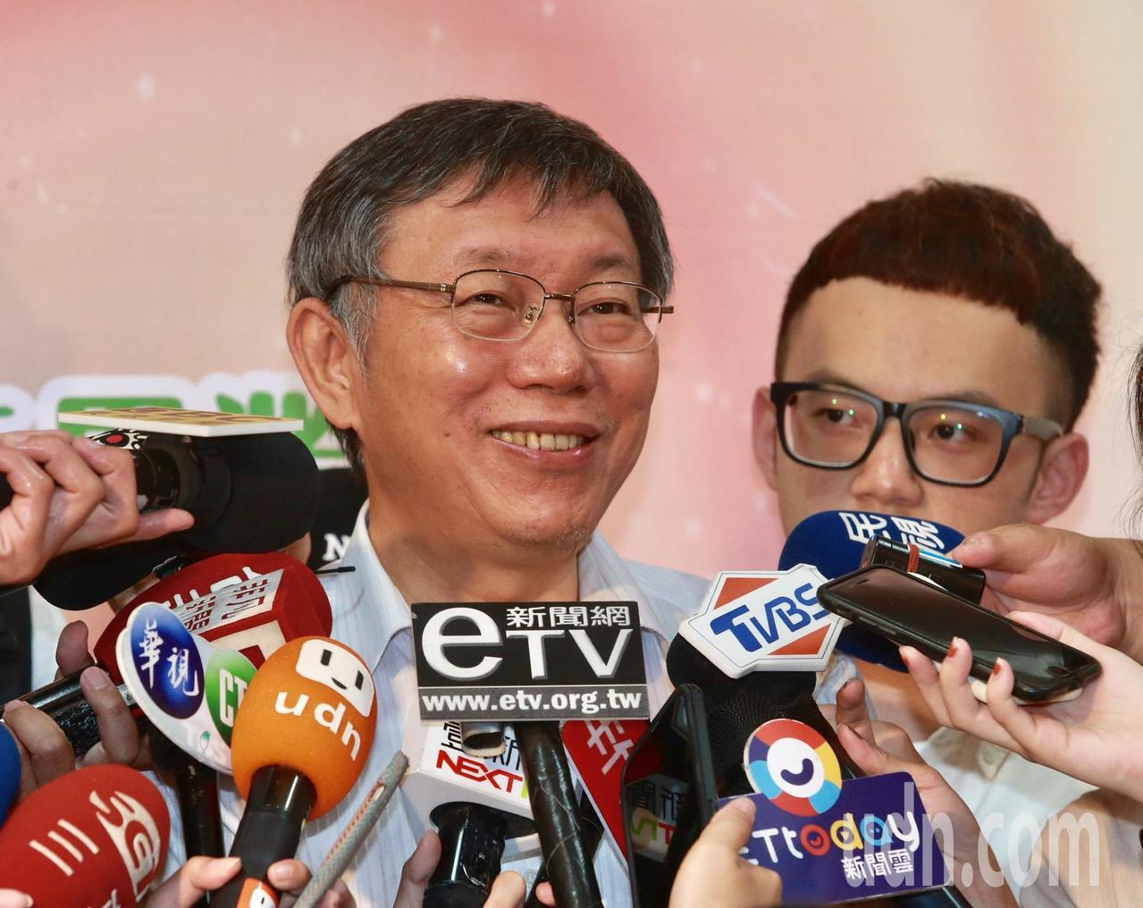 台北市長柯文哲對於蔡英文適不適合再連任表示,蔡英文已經做三年了適不適合看不出來嗎...