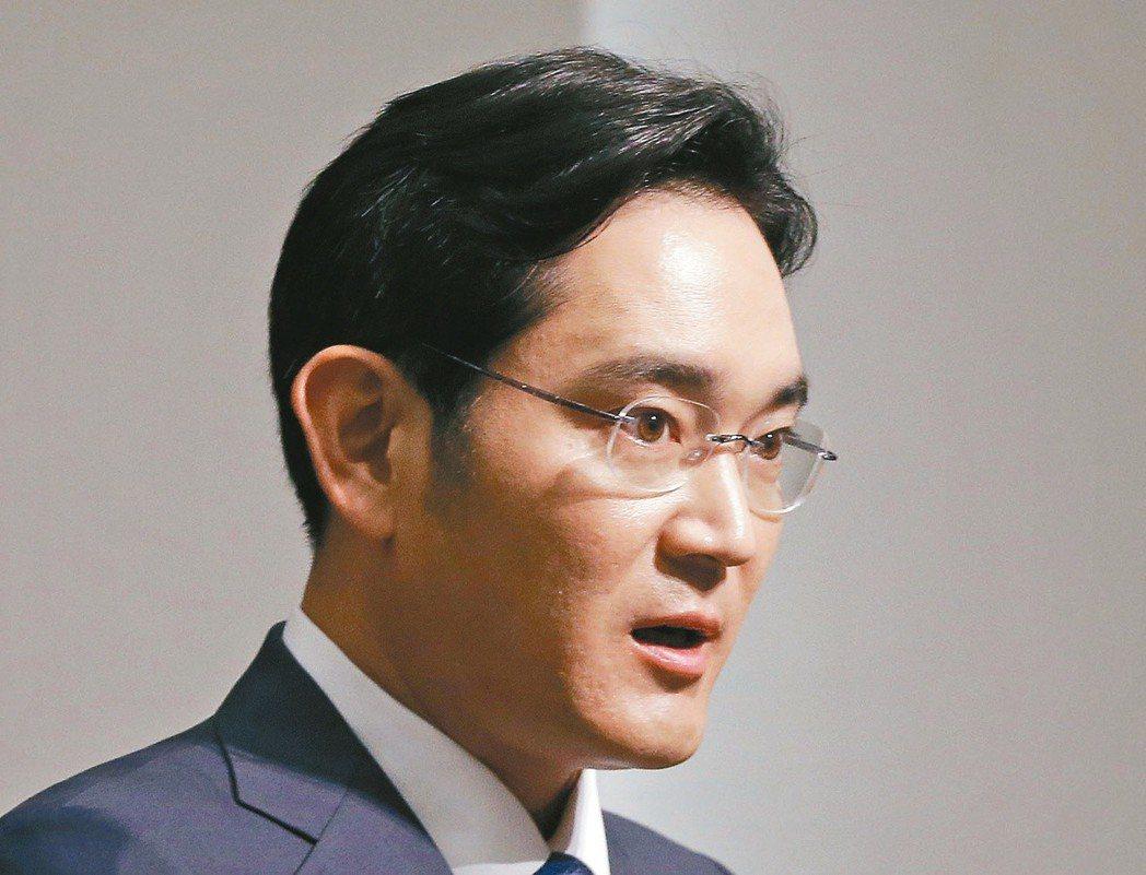 南韓三星電子副會長李在鎔表示,將持續投資第六代行動通訊(6G)及系統晶片。 美聯...