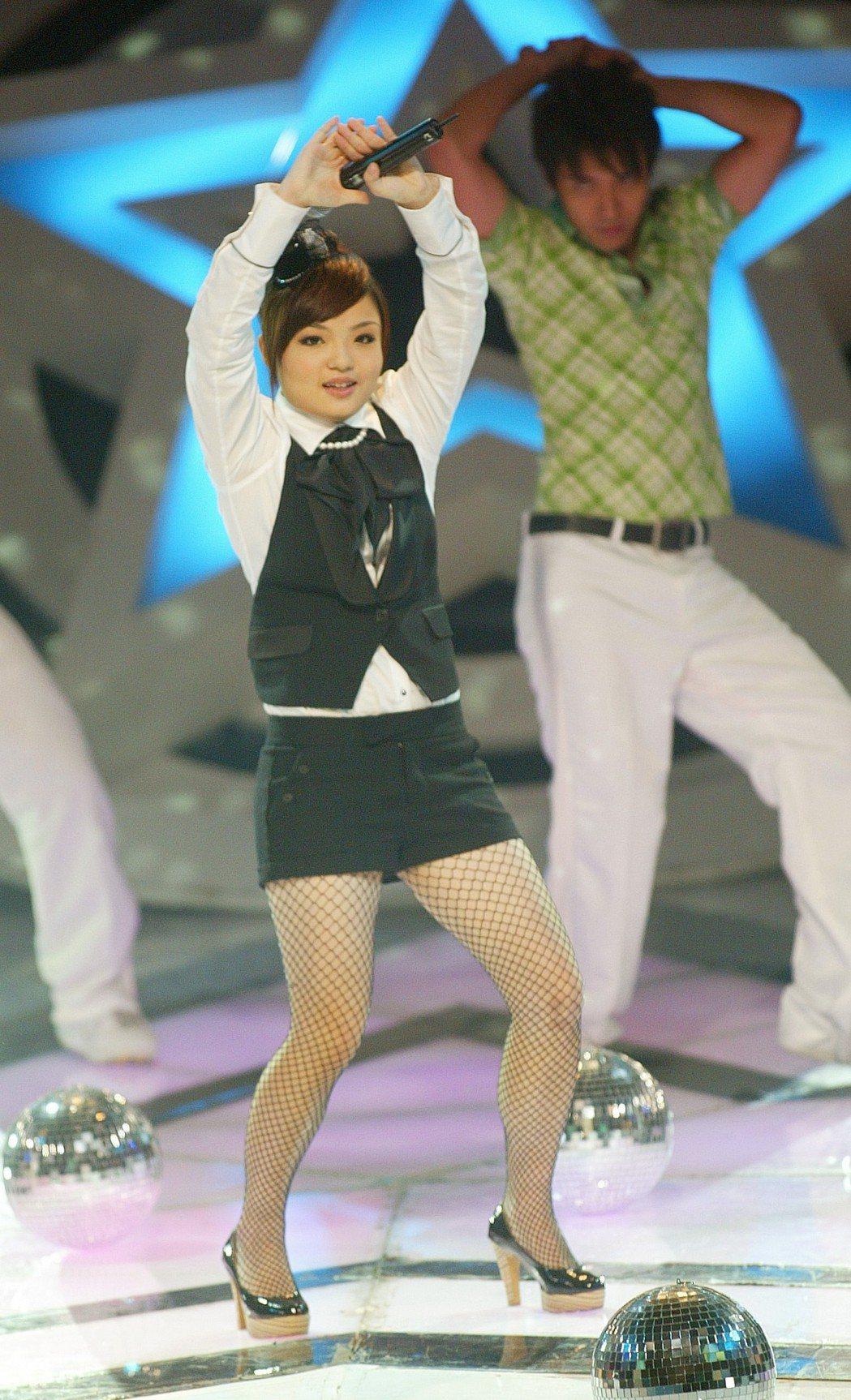 徐佳瑩在「超級星光大道」抱走冠軍。本報資料照片